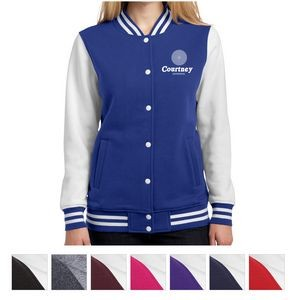 Sport-Tek® Ladies' Fleece Letterman Jacket