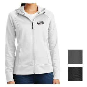Sport-Tek® Ladies' Rival Tech Fleece Full-Zip Hooded Jacket
