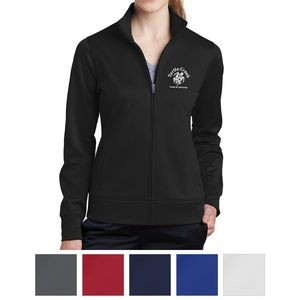 Sport-Tek® Ladies' Sport-Wick® Fleece Full-Zip Jacket